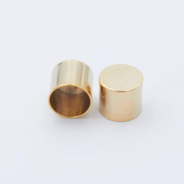 Seil-Endkappe gold