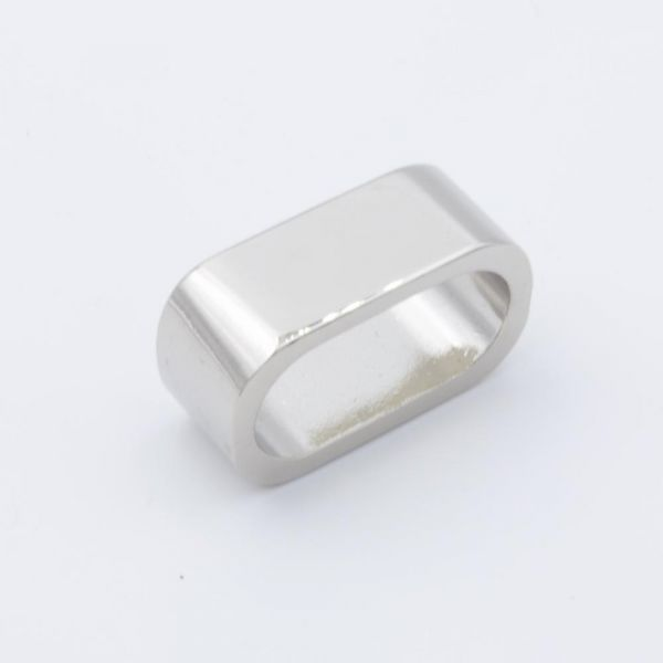 Oval-Ring 22x11 silber