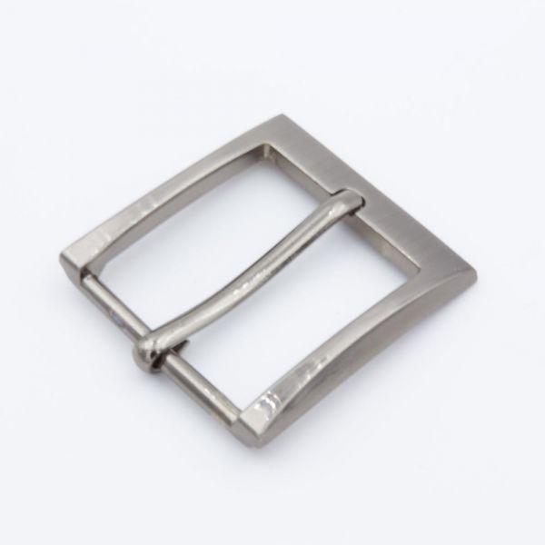 Gürtelschnalle 35mm Silber-Antik