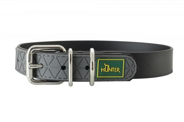 HUNTER Hundehalsband Convenience schwarz