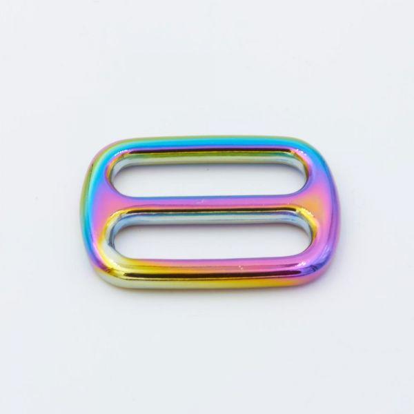 Metallschieber regenbogen
